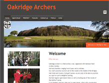 Tablet Preview of oakridgearchers.org